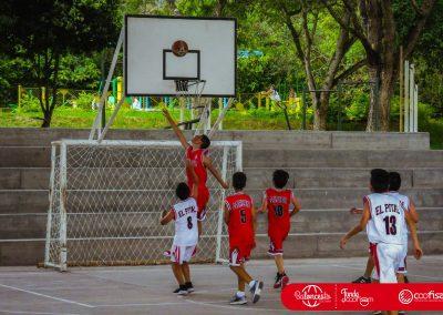 Escuela de Vida Modalidad Baloncesto