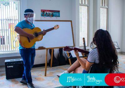 Escuela de Vida Modalidad Música
