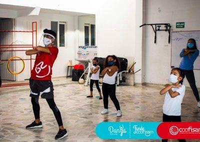 Escuela de Vida Modalidad Danza